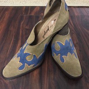 Free People Alamo Western shoe/boots 39/8